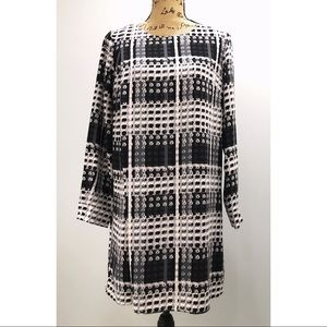 NWOT Thakoon Black Grey Print Dress
